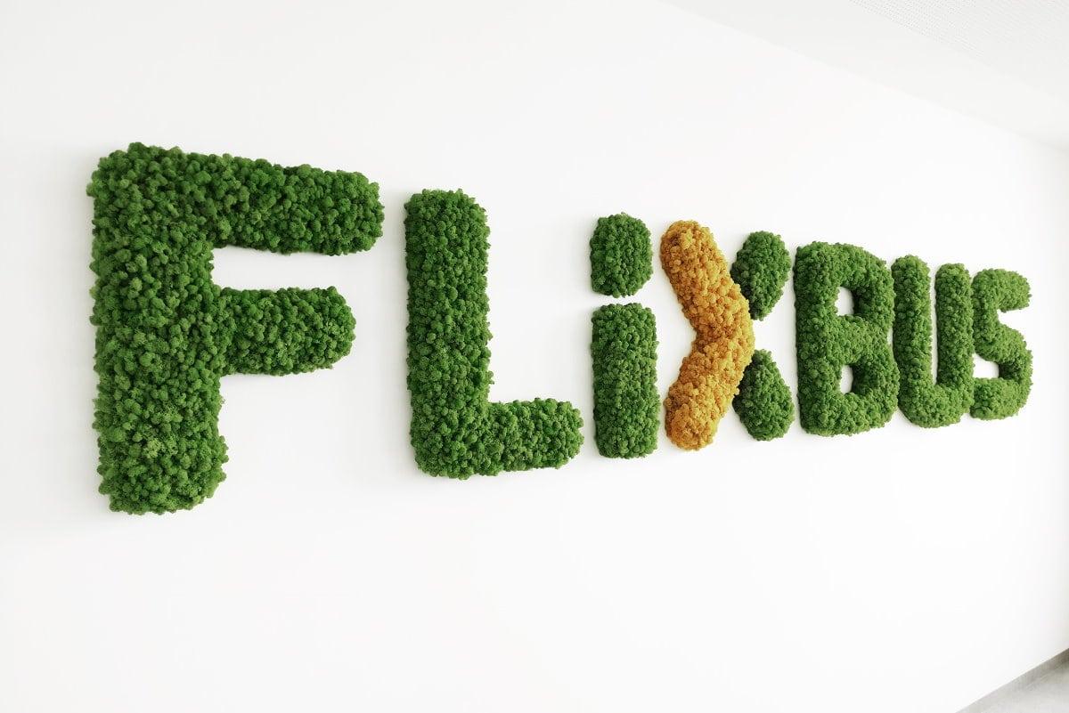 logo de mousse flixbus - 100% lichen